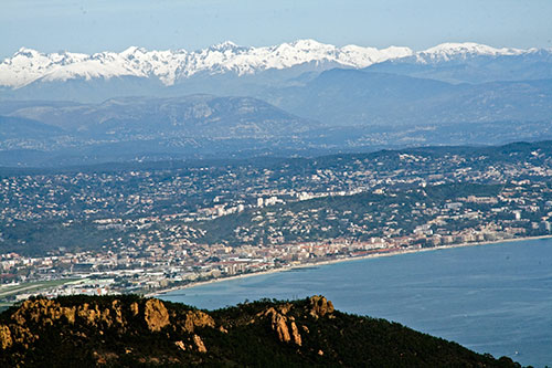 Pit Aretz: Cannes und Alpen
